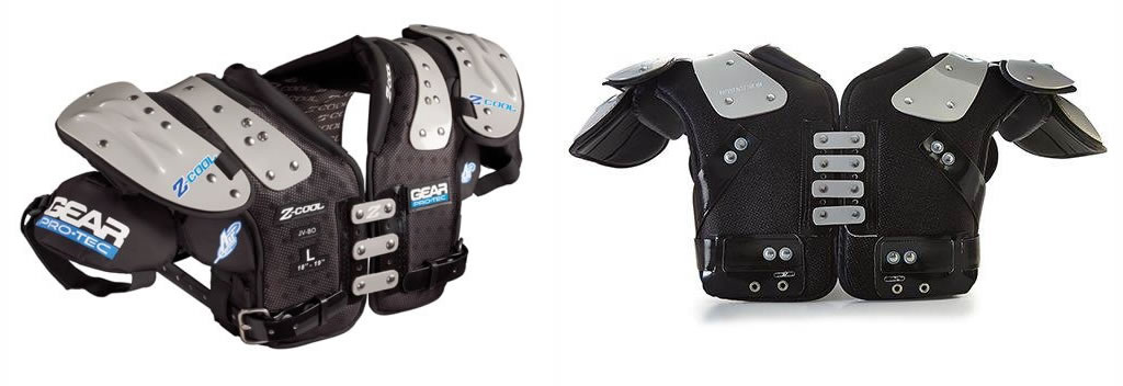 Gear Pro-Tec Z-Cool Pro Select Adult Football Shoulder Pads