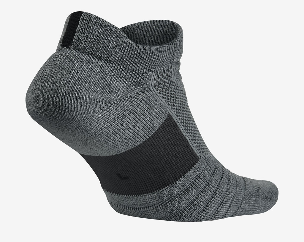 Grey Elite Versatility Low Basketball Socks for Men