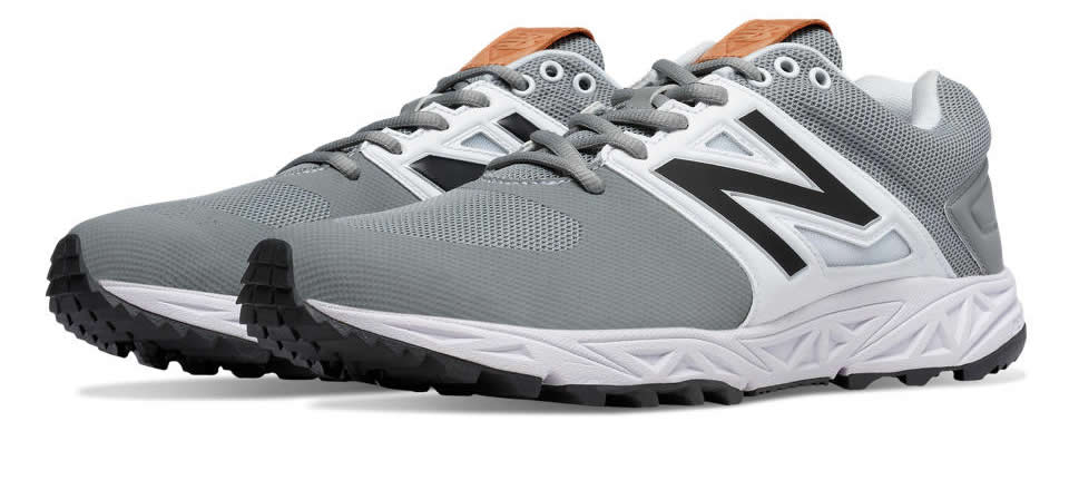 Grey Men's Turf 3000v3 Baseball Cleats by New Balance