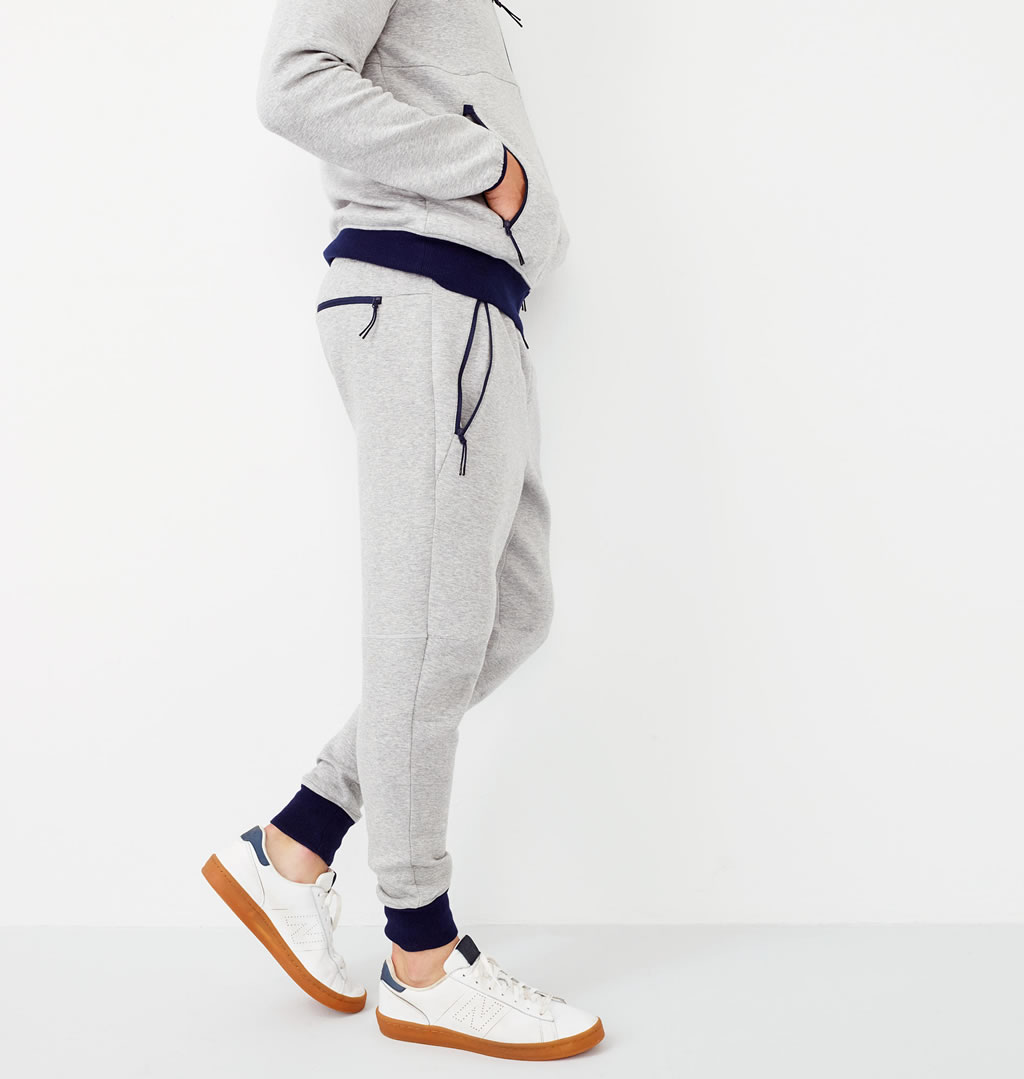 Grey sweatpant by J.Crew x New Balance