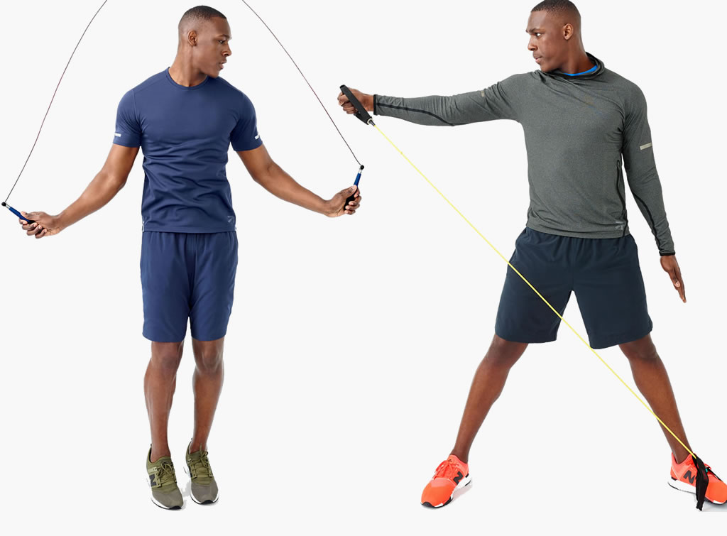 J-Crew and New Balance athletic collection for men