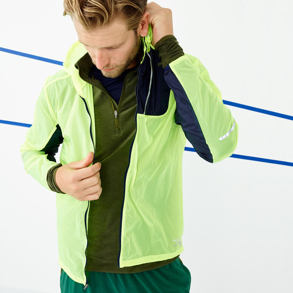 J.Crew lightweight packable jacket
