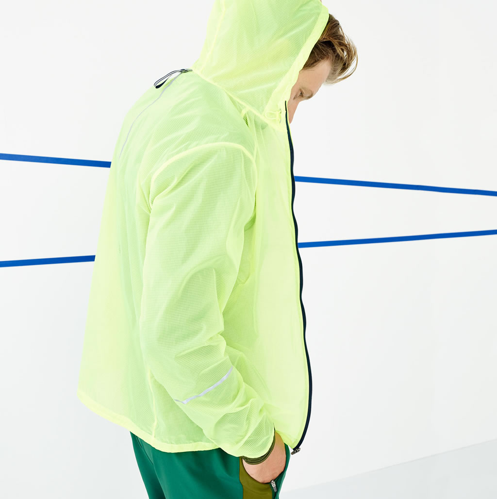 J.Crew x New Balance lightweight packable jacket