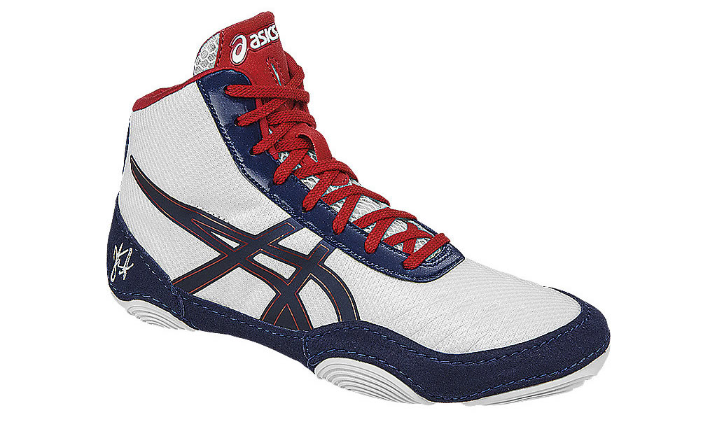 JB Elite youth wrestling shoes by Asics