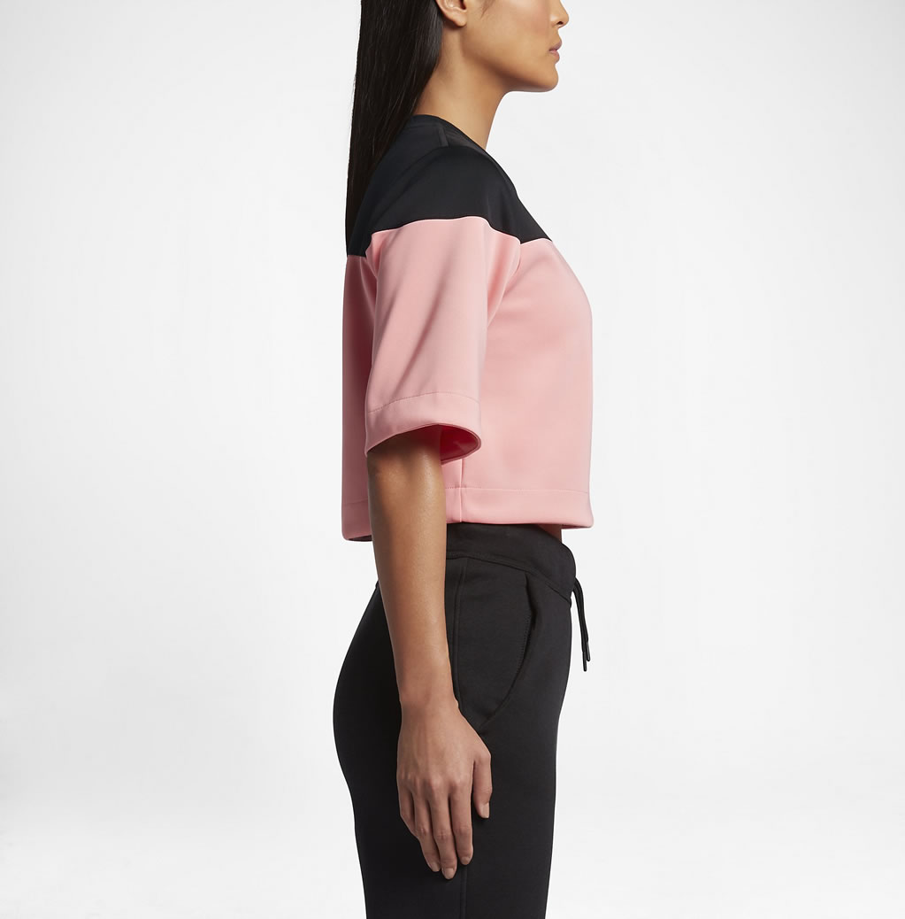 Melon Track and field crop top for women by Nike