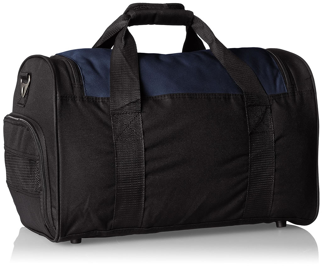 Navy Gym Bag with Wet Pocket by Everest, Shoulder Strap