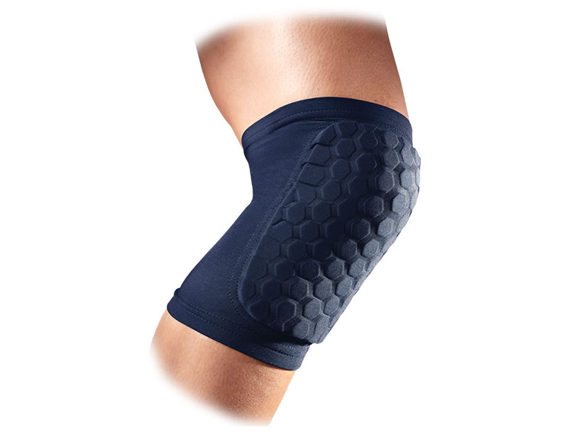 Navy Hex Basketball Knee Pads By McDavid