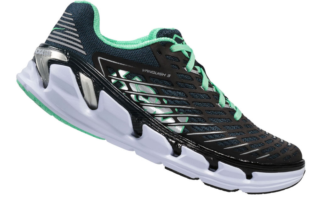 Navy running shoes for women by Hoka One One