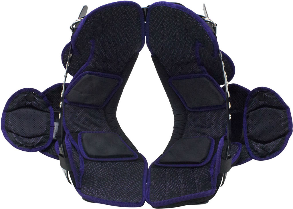 O2 Maxx All-Purpose Football shoulder pads by Schutt