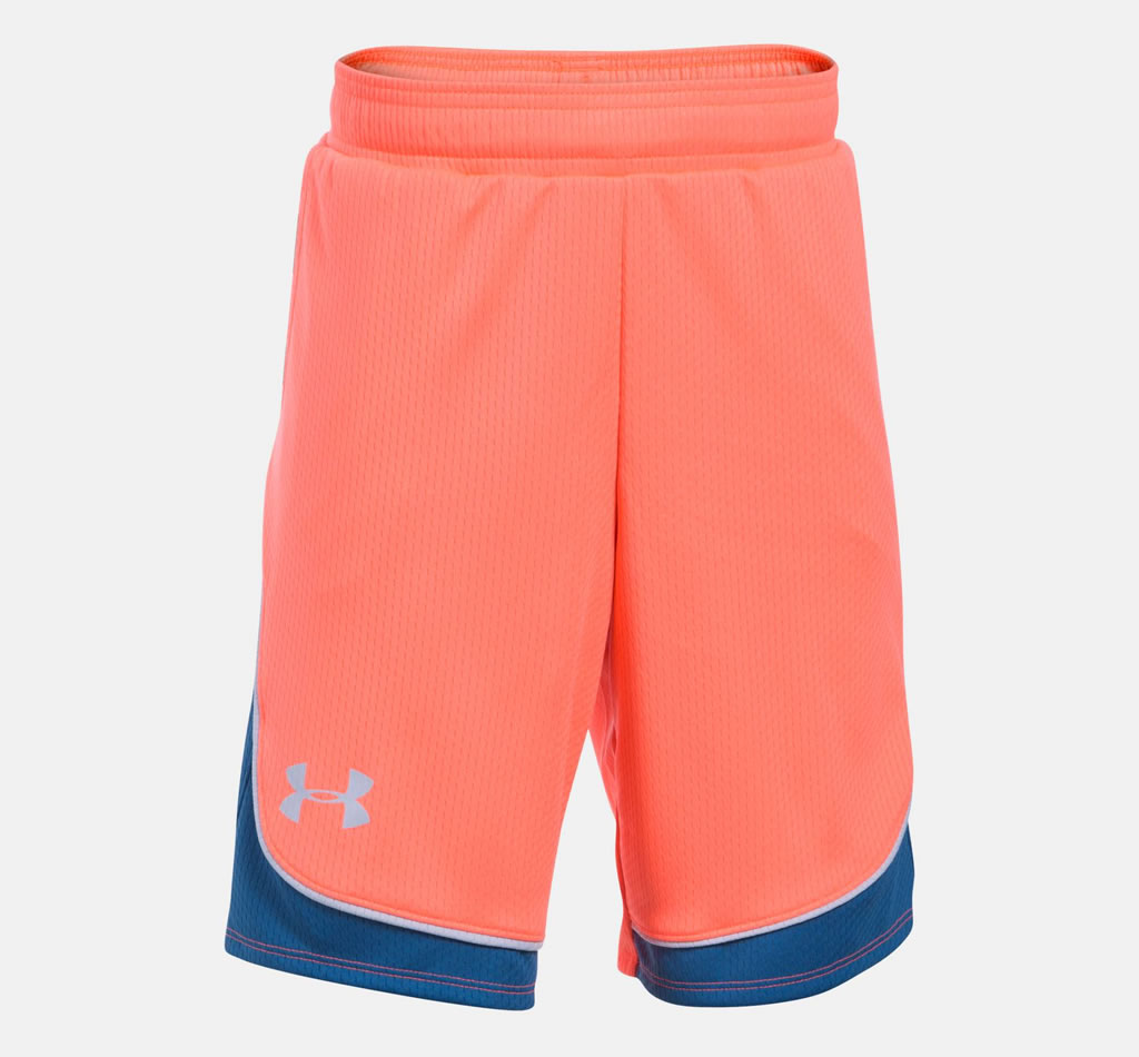 Orange Basketball Shorts for Women By UA