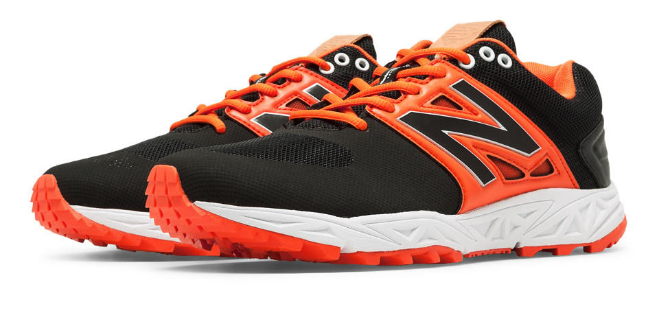 Orange Men's Turf 3000v3 Baseball Cleats By New Balance