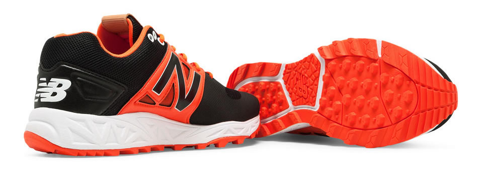 Orange Turf 3000v3 Baseball Cleats For Men By New Balance