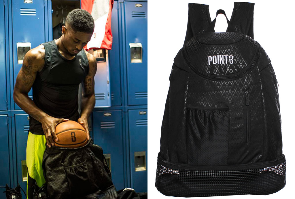 Point3 Basketball Back Pack