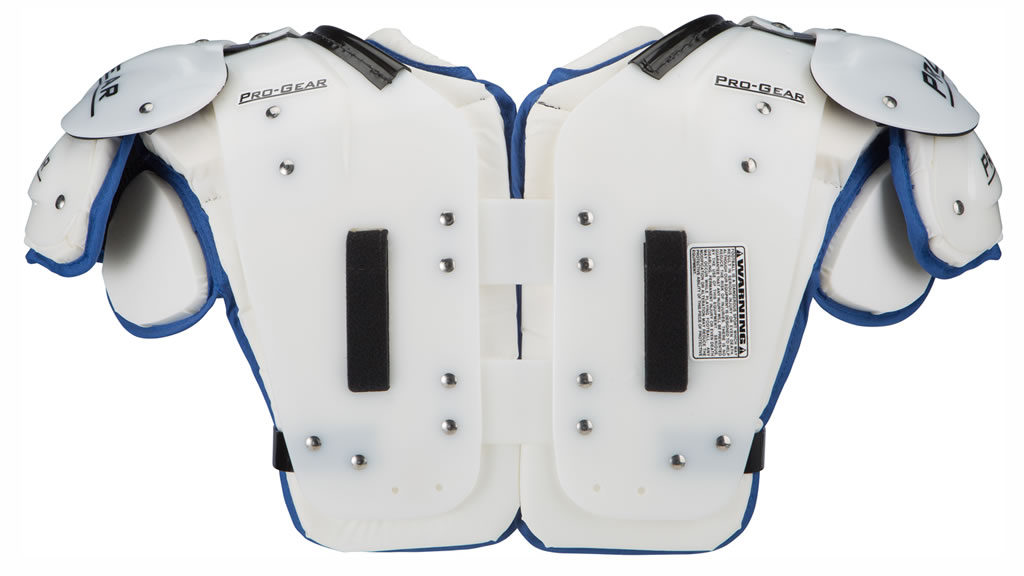 Pro Gear PL15 Adult Football Shoulder Pads, Back