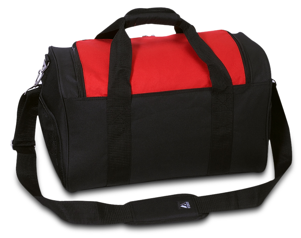 Red Gym Bag with Wet Pocket by Everest