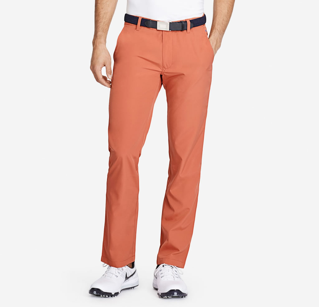 Red Lightweight Highland Golf Pants for Men