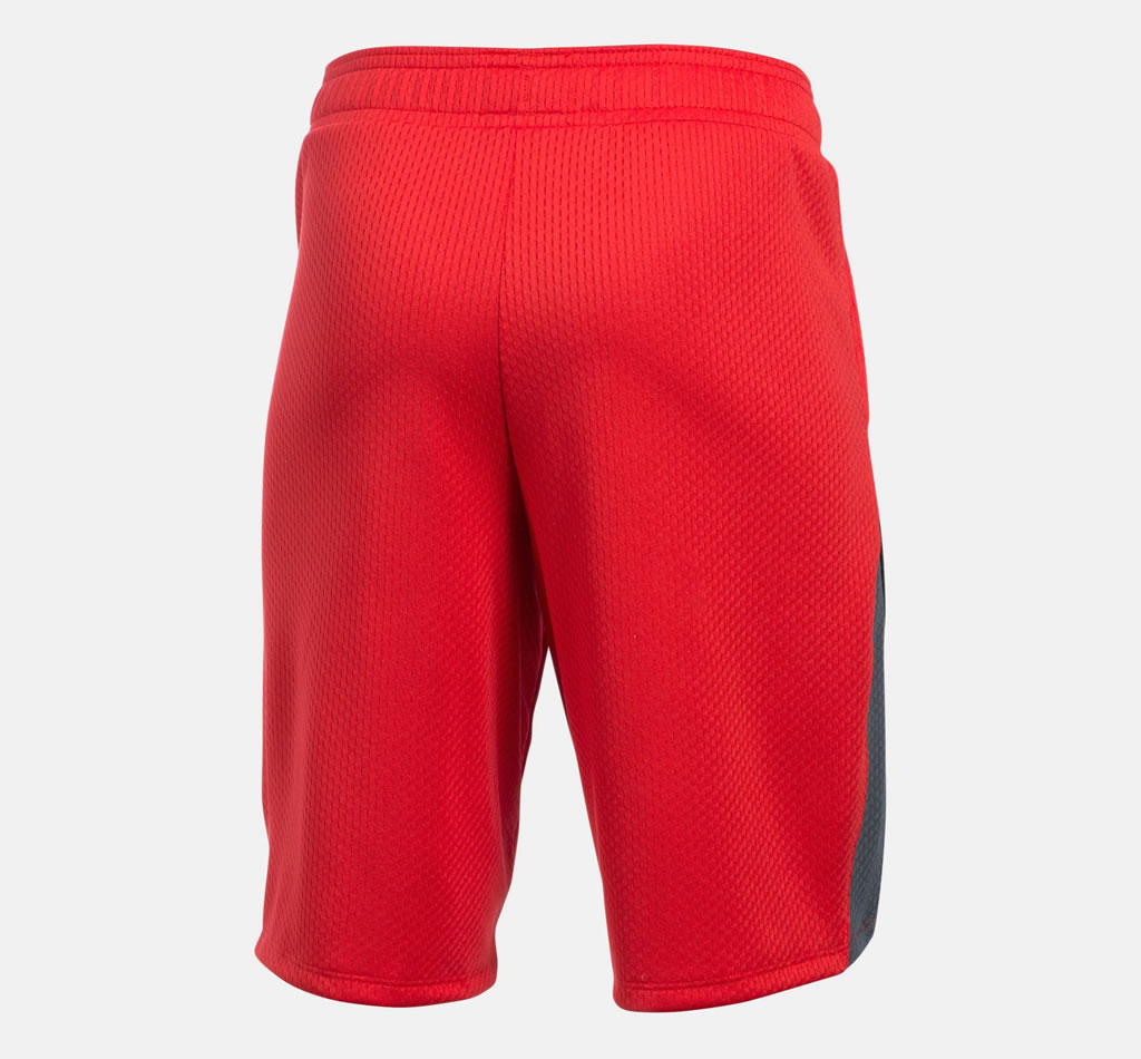 Red Women's Basketball Shorts By UA
