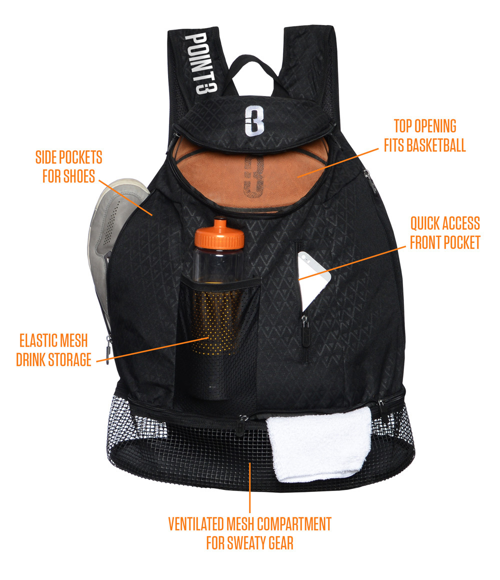 Road Trip basketball back pack