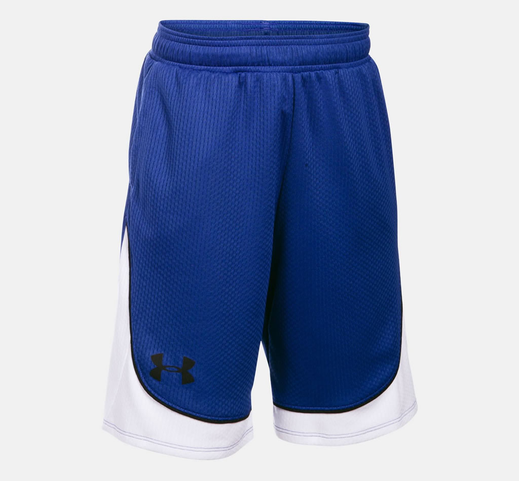 Royal Basketball Shorts for Women By UA