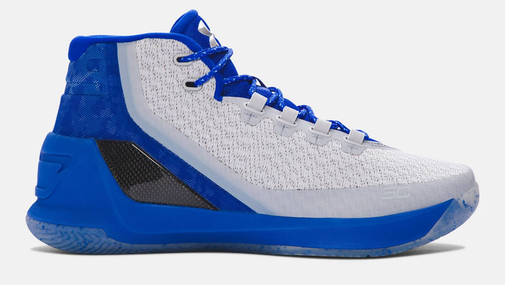 Steel Curry 3 Basketball Shoes For Men by UA