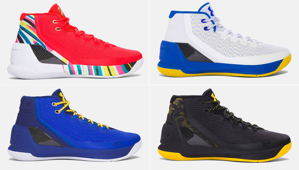 Stephen Curry 3 Basketball Shoes for men