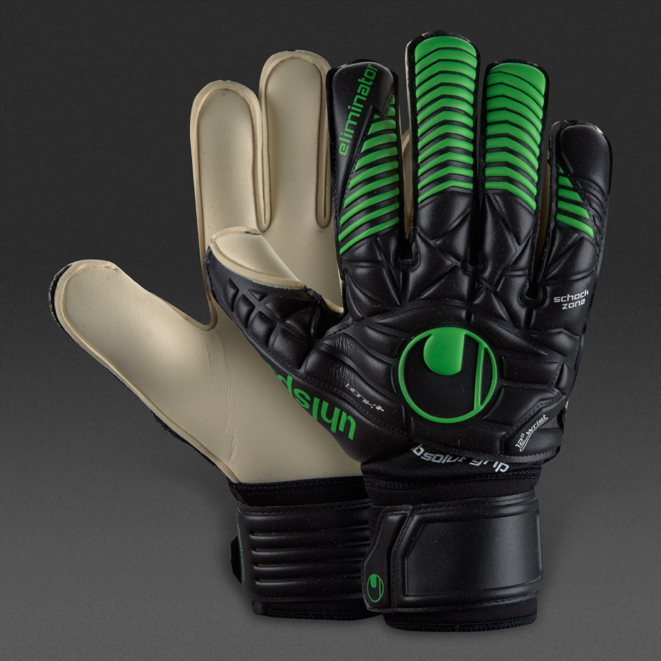 UHLSPORT Eliminator Absolutgrip Bionik+ Gloves