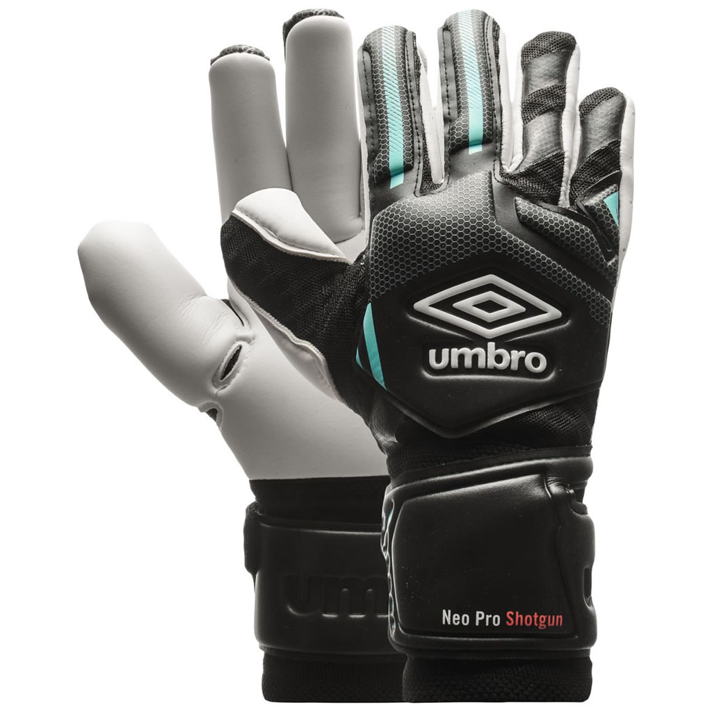 Umbro Goalkeeper Gloves Neo Pro Shot Gun Cut