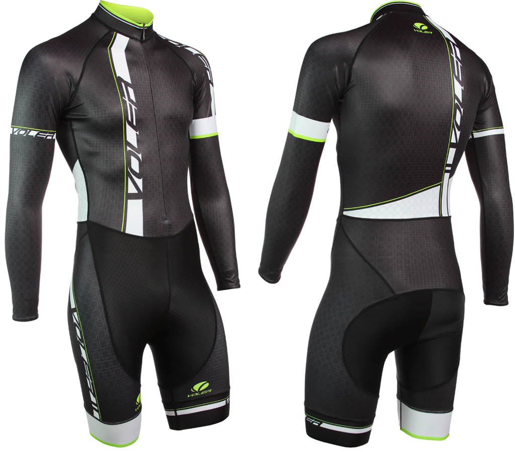 Voler Long Sleeve Cycling Suit for Men