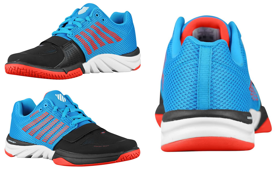 X Court training shoes by K-Swiss
