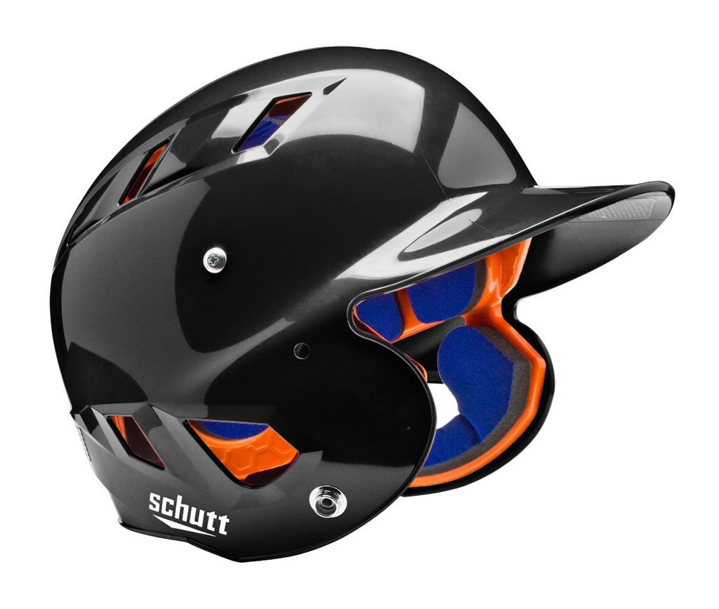 Black Air 4.2 OSFM Softball Helmet By Schutt