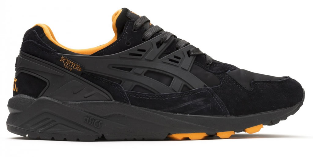 Bomber Jacket Inspired GEL Kayano Trainer By Asics And Porter