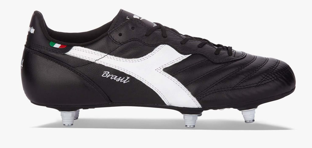 Brasil Italy OG SC Leather Soccer Cleats By Diadora