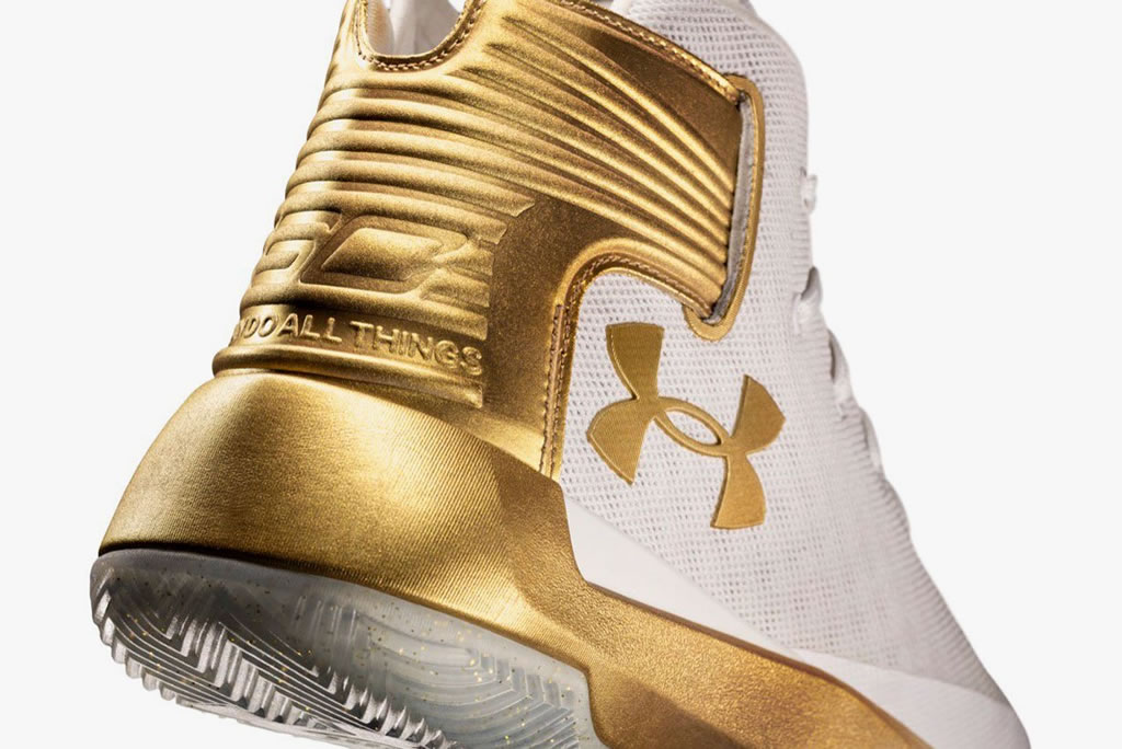 CURRY 3ZER0 Limited Gold Edition by UA