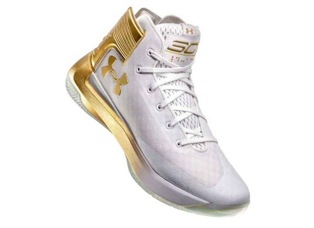 CURRY 3ZER0 Limited Gold Edition by Under Armour