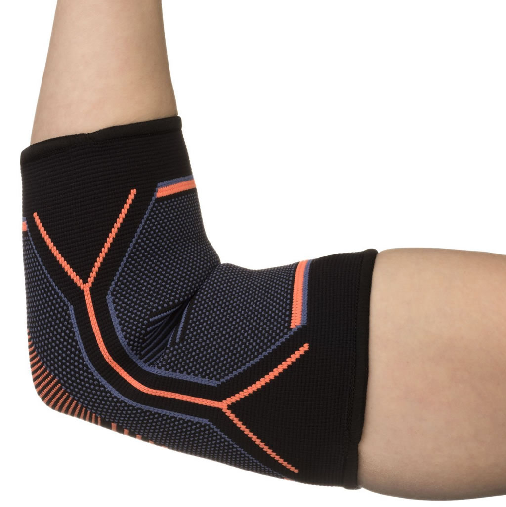 Elbow Brace Compression Support Sleeve by Kunto Fitness