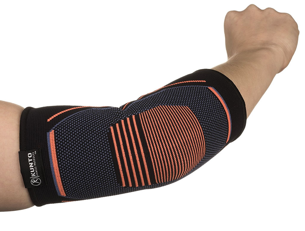 6f7cef2984 Kunto Elbow Brace Compression Support Sleeve For Tennis