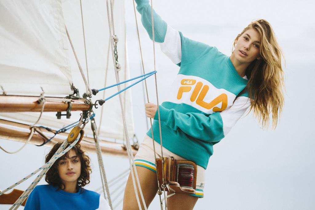 FILA and Urban Outfitters Women's Capsule, Hoodie