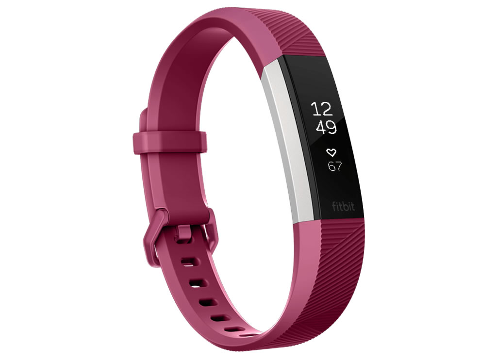 Fuchsia Fitness Alta HR Wristband by Fitbit