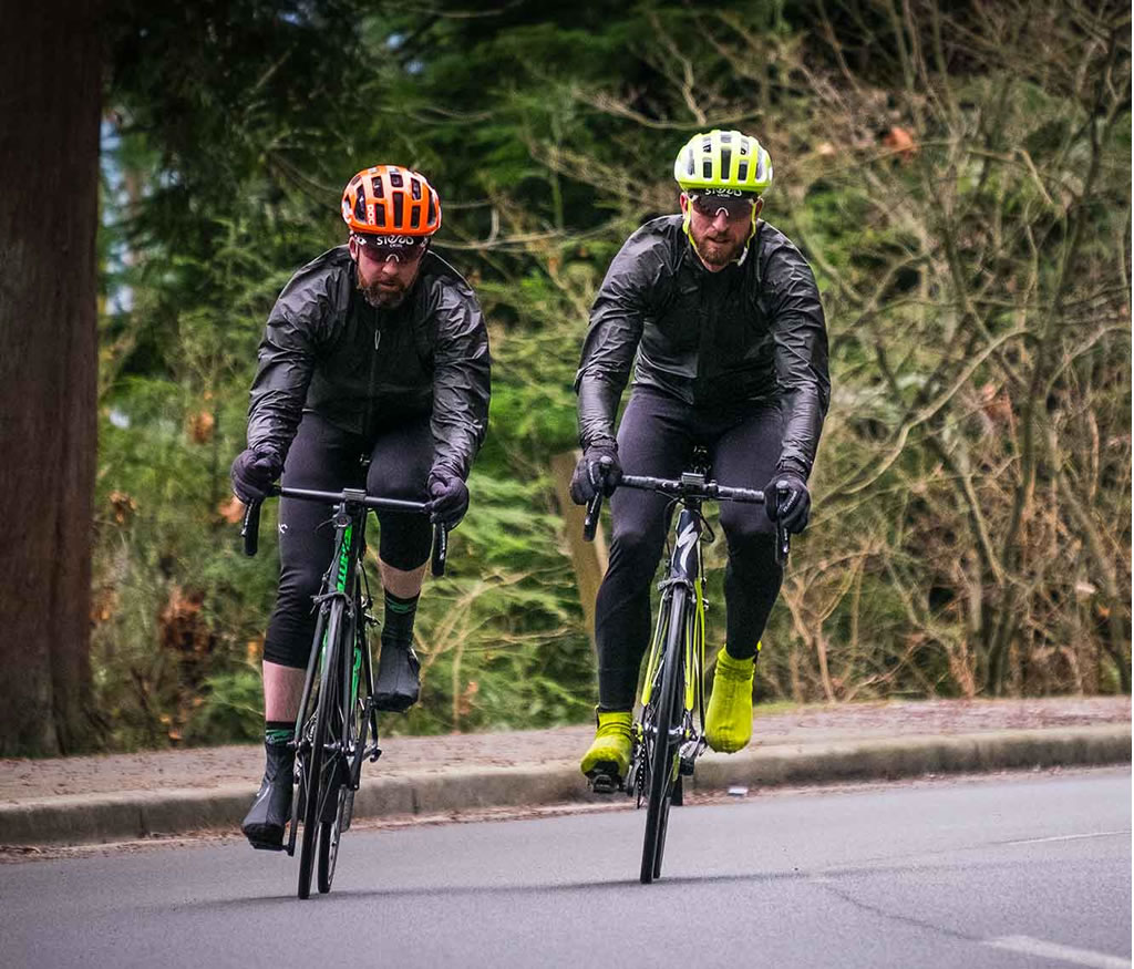 Fully waterproof cycling jacket by 7mesh
