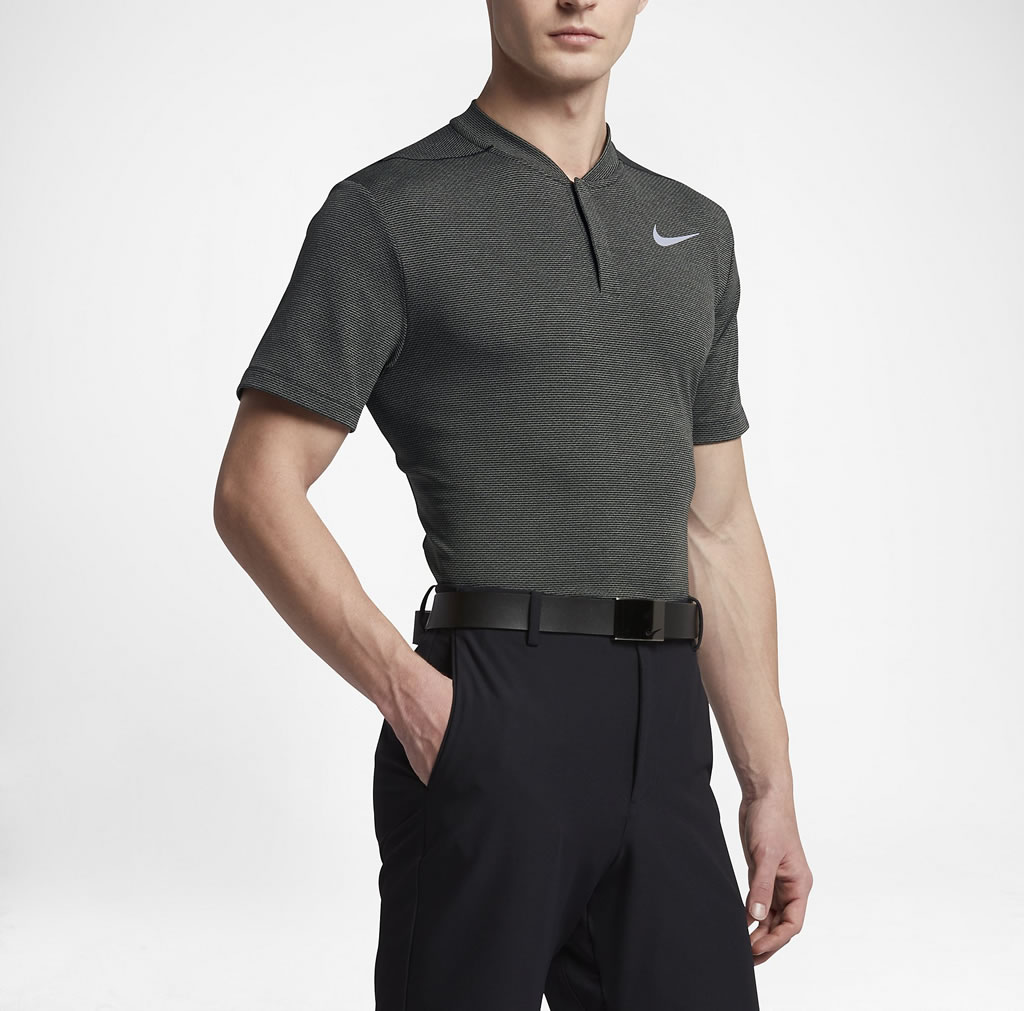 0bc7099c Grey AeroReact Men's Slim Fit Golf Polo by Nike