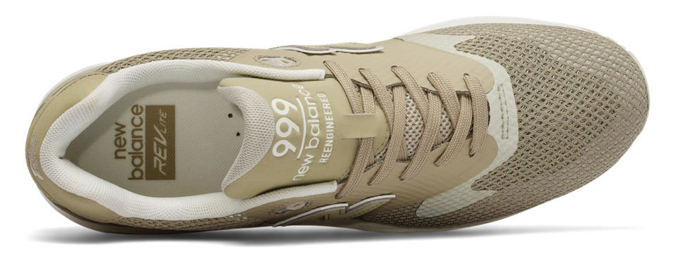 Khaki 999 Re-Engineered Kicks By New Balance