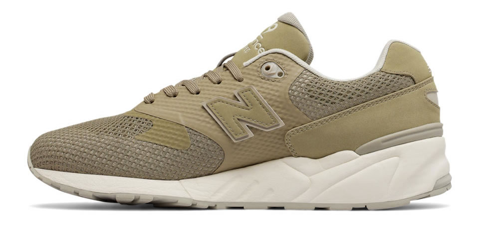 Khaki 999 Re-Engineered Sneaker By New Balance