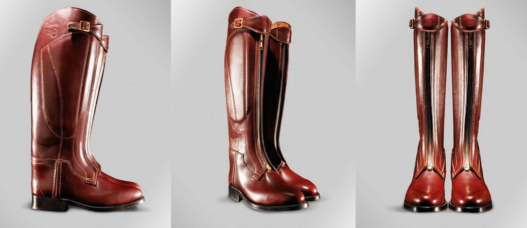 Luxurious custom-made boots by Casablanca