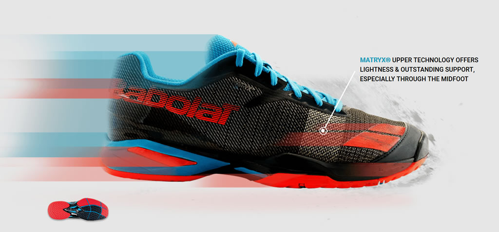 Men's Jet Tennis Shoes by Babolat