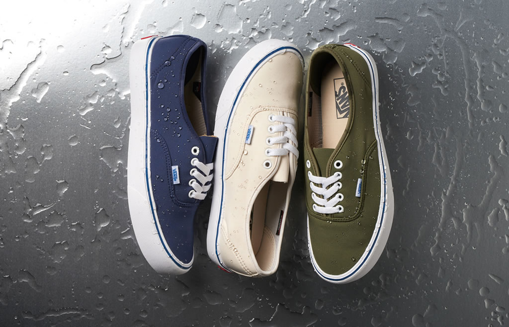 New Weather-Ready Footwear Collection by Vans Vault x Schoeller