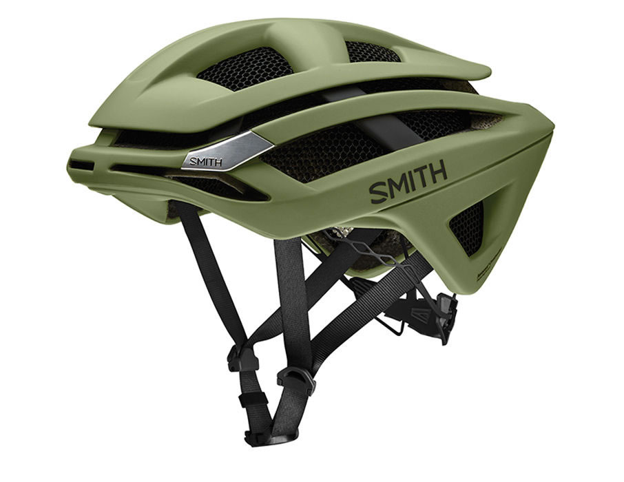Olive Cycle helmets by Smith Optics