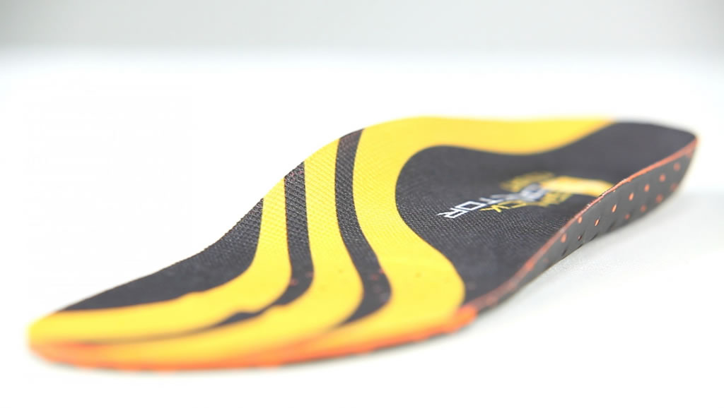 Orange Court Insole for Basketball by Shock Doctor