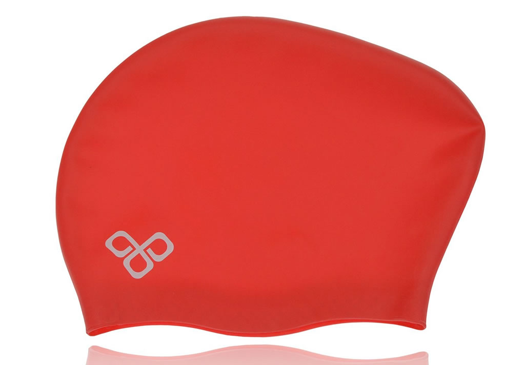 Red Swim Caps For Long Hair