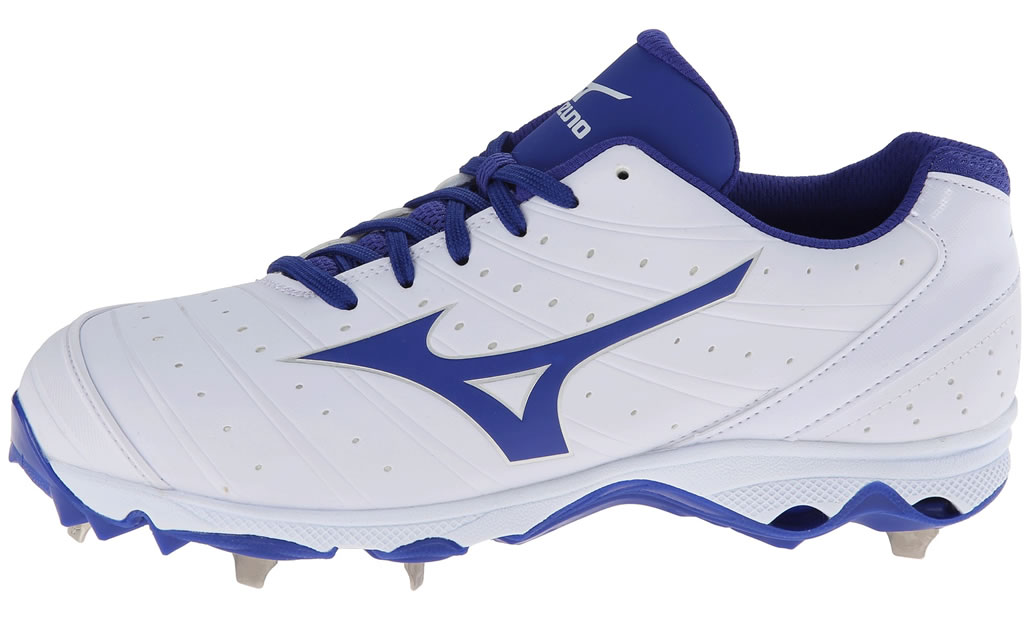Royal Women's 9-Spike Sweep 2 Fastpitch Cleat By Mizuno, Side