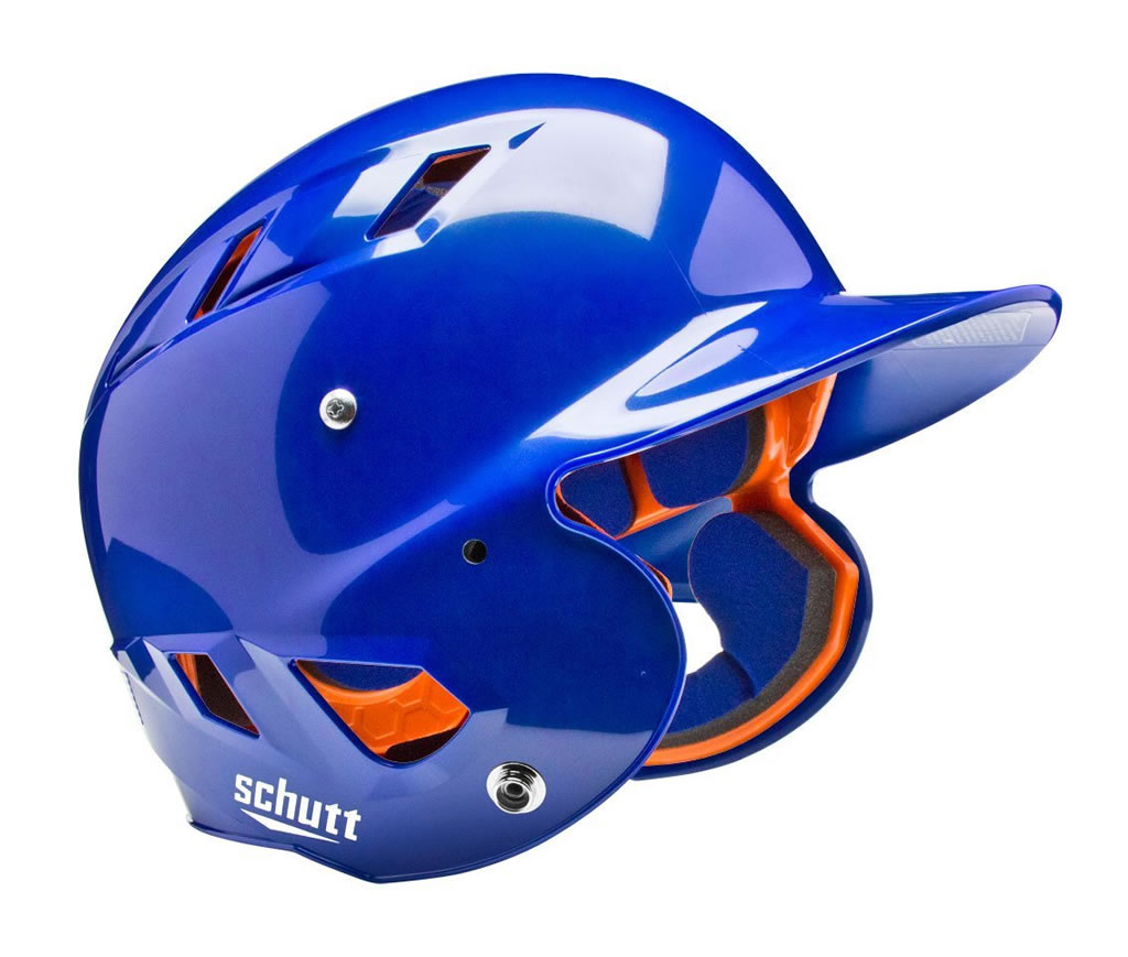Royal softball helmet by Schutt